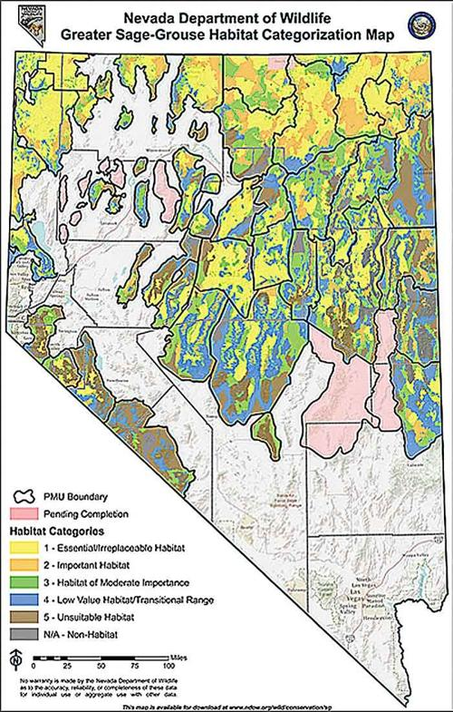 NDOW, feds produce sage grouse habitat maps | Local ... on david eddings maps, lds mission maps, artistic maps, safehold series maps, classic d&d maps, high quality maps, full screen maps, bird migration maps, snowy egret maps, pennsylvania grouse hunting maps, unusual maps, ruffed grouse habitat maps, fictional maps, sage leaf, old vintage maps, star gazing maps, cartography maps, role playing maps,