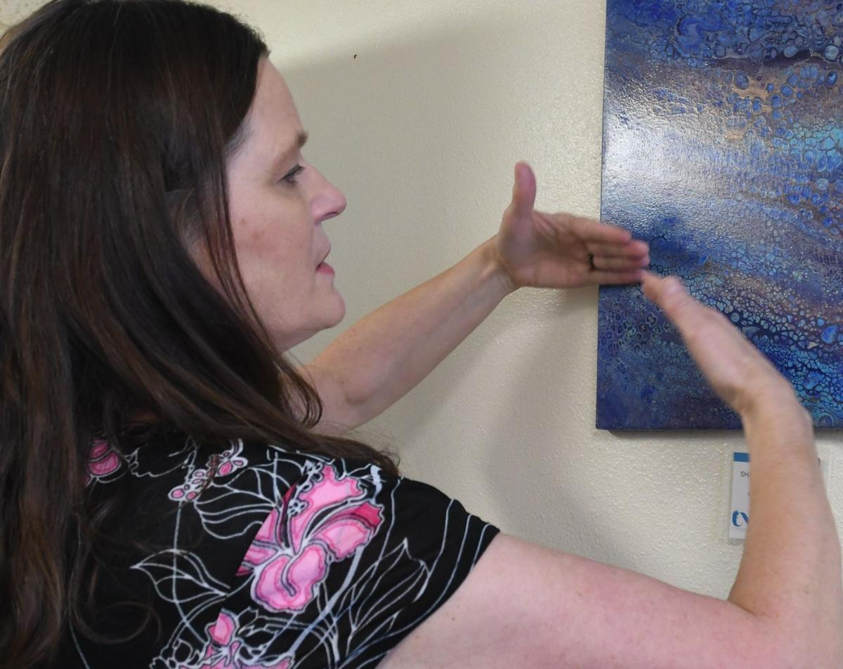 Artist creates one-of-a-kind works