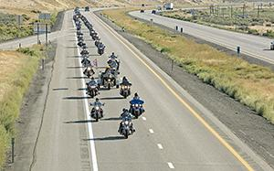 An honorable escort: Veterans' remains taken to cemetery