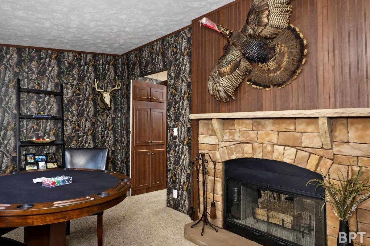 Man Cave With Fireplace : Does it have a man cave lifestyles elkodaily