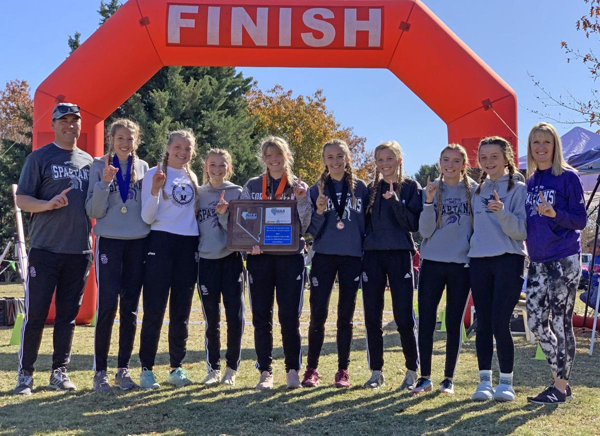 Spring Creek Girls Cross Country Team — 2019 3A North Regional Champion