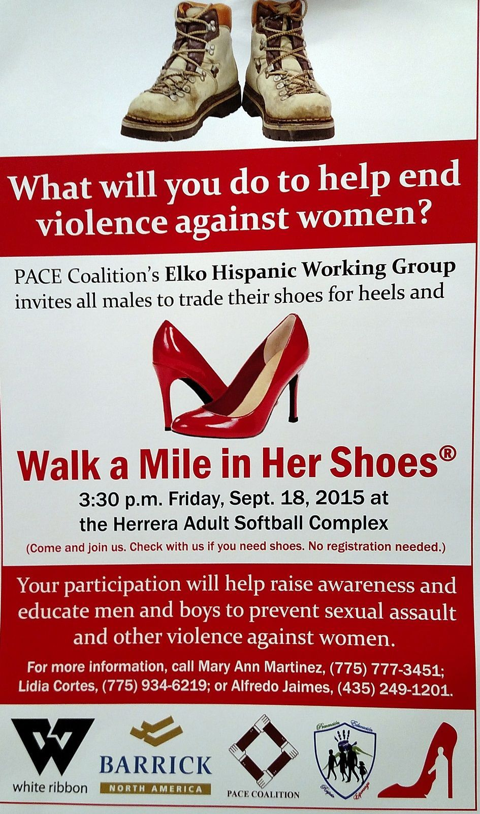 Walk a Mile in Her Shoes poster