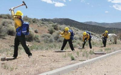 Rookie School Prepares Future Wildland Firefighters News