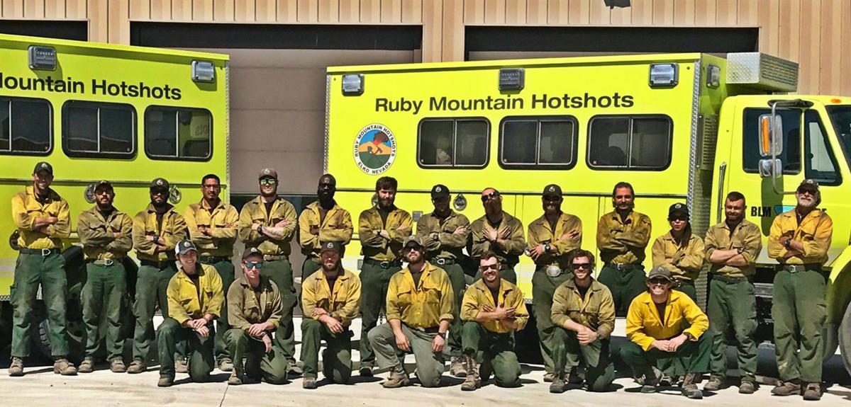 2017 Ruby Mountain Hotshot crew