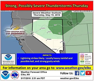 Stormy weather ahead, according to forecast | Local | elkodaily.com