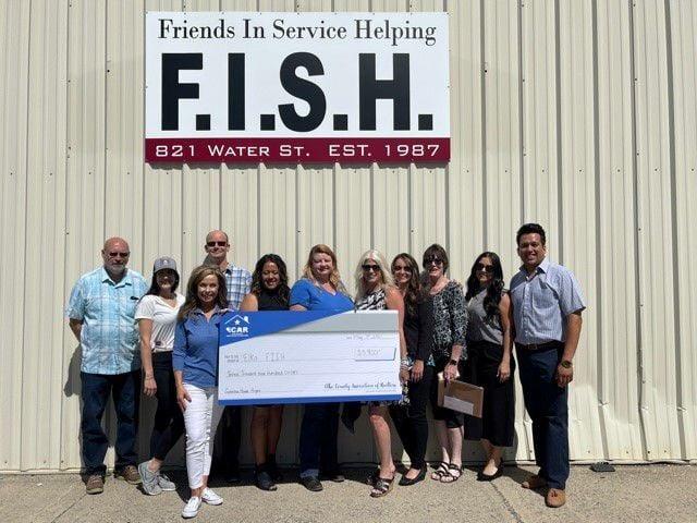 Elko County Association of Realtors donates to Samaritan House