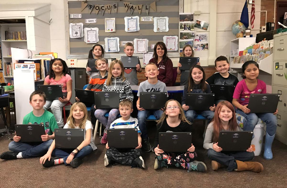 Barrick donates Chromebooks to Grammar #2