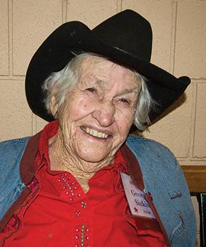 Cowgirl Georgie Sicking: No apologies for a life well-lived