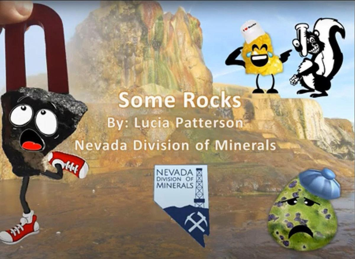NV Div of Minerals education video - Some Rocks
