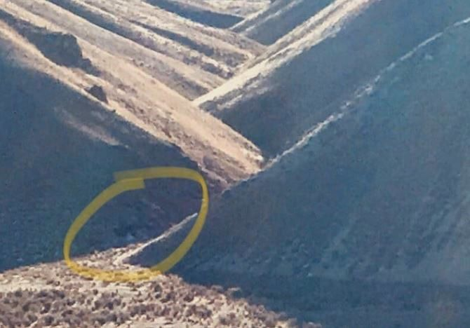 Small plane crash near base of Elko Mountain