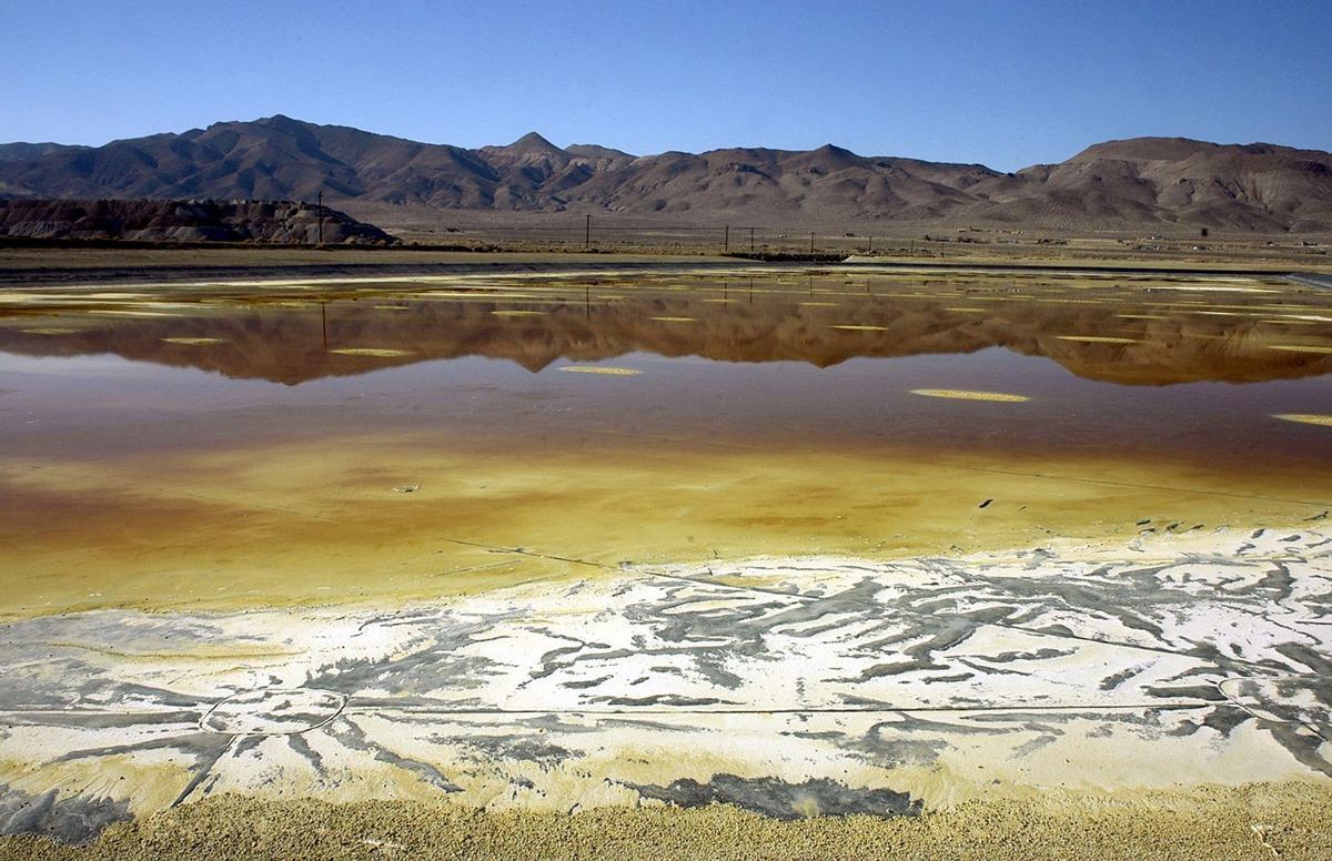 Toxic Nevada Mine-Superfund