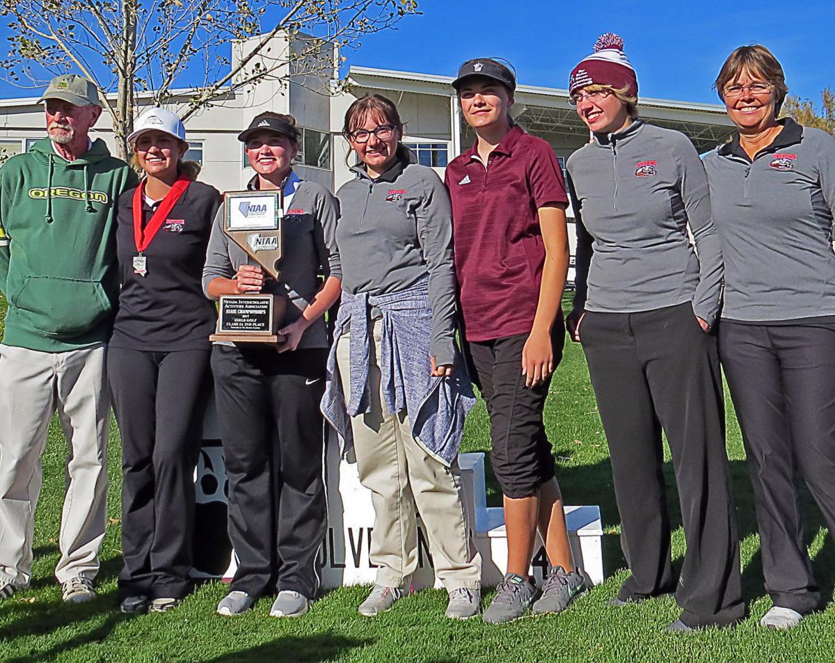 West Wendover girls golf state runner-up