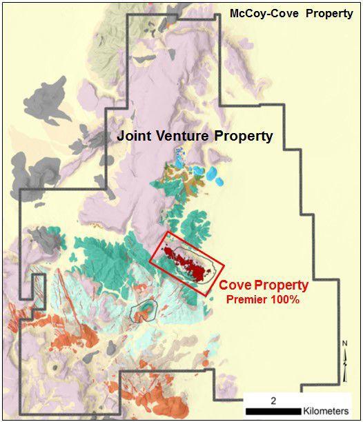 Premier McCoy-Cove boundary map