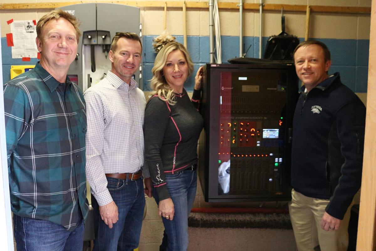 Elko High School sound system donation from the community