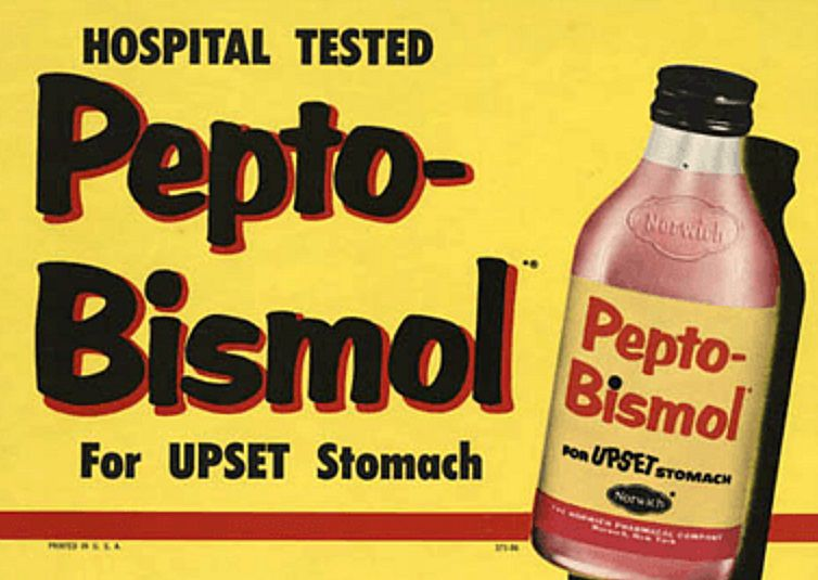 Old Pepto – Bismuth ad