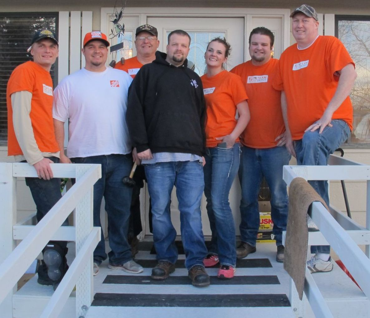 Home Depot Remodels House For Disabled Woman News Elkodaily Com