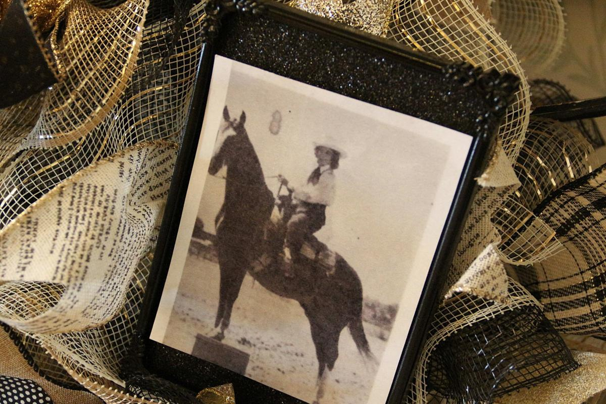 Former rodeo queen and 'Rosie the Riveter' turns 100