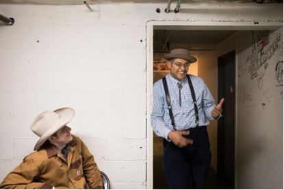 Andy Hedges and Don Flemons