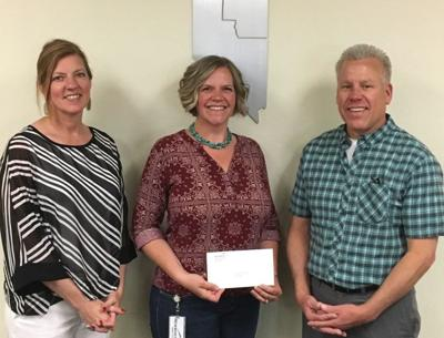 Newmont donates to school district