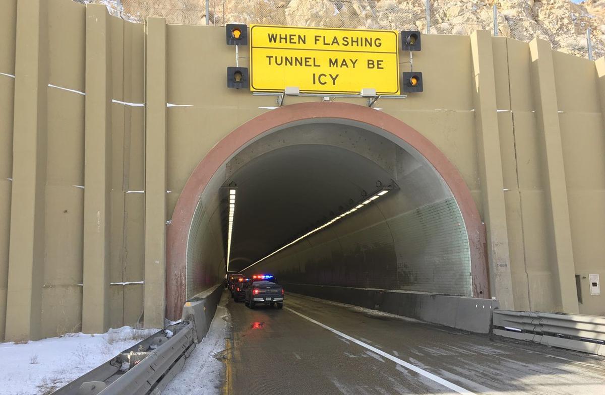 Carlin Tunnel crash