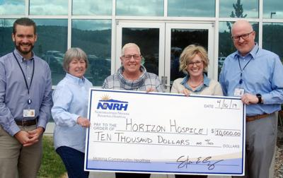 Horizon Hospice donation