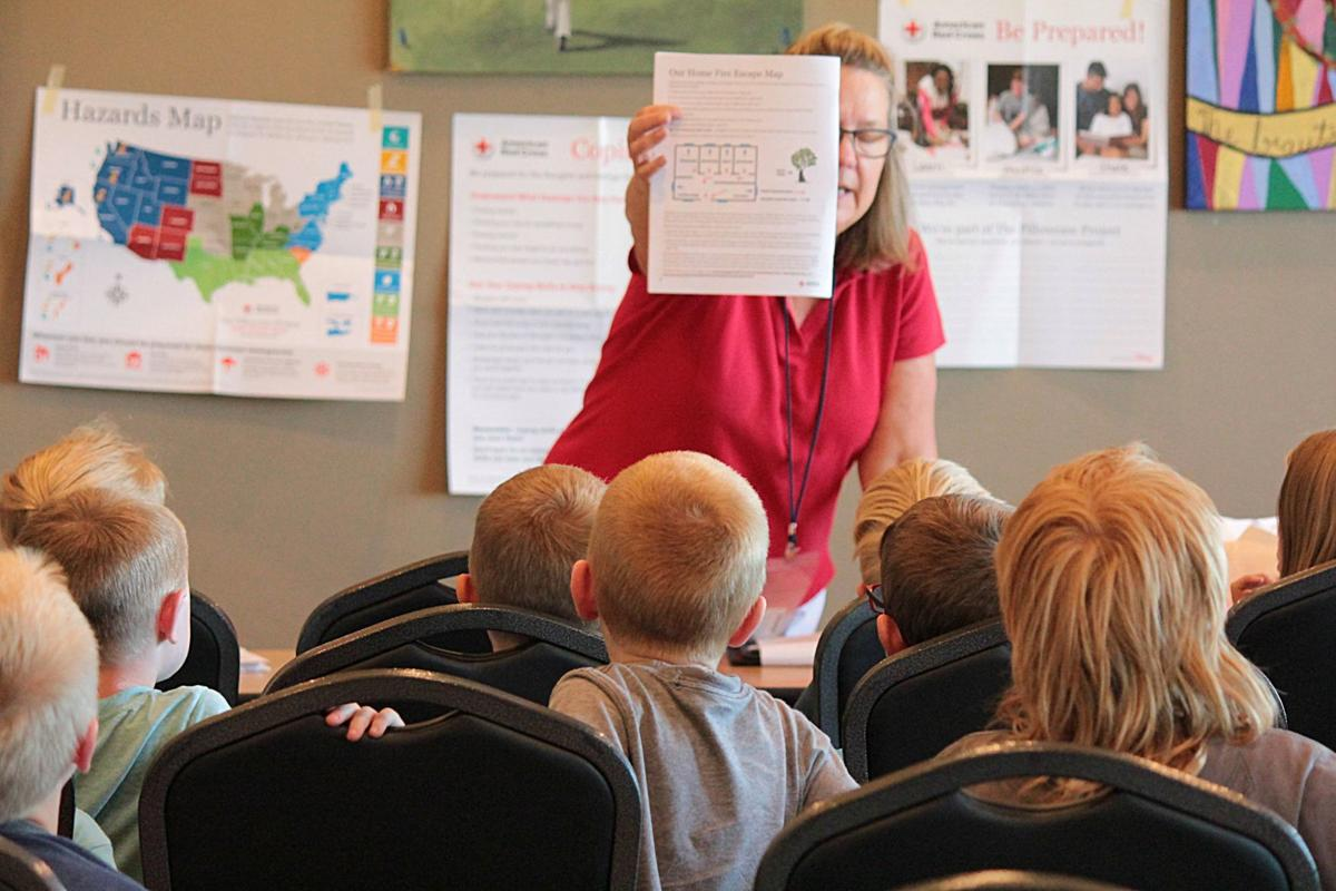 Children prepare for wildfire emergencies