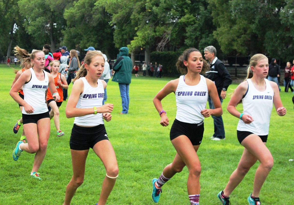 Lady Spartans cross country