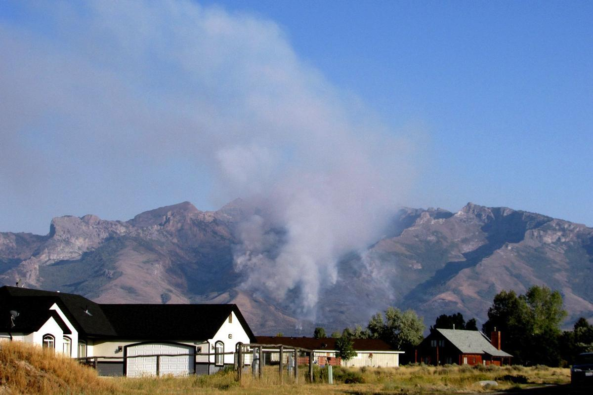 fire burns higher into ruby mountains | local | elkodaily