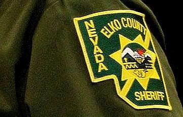 Elko sheriff patch