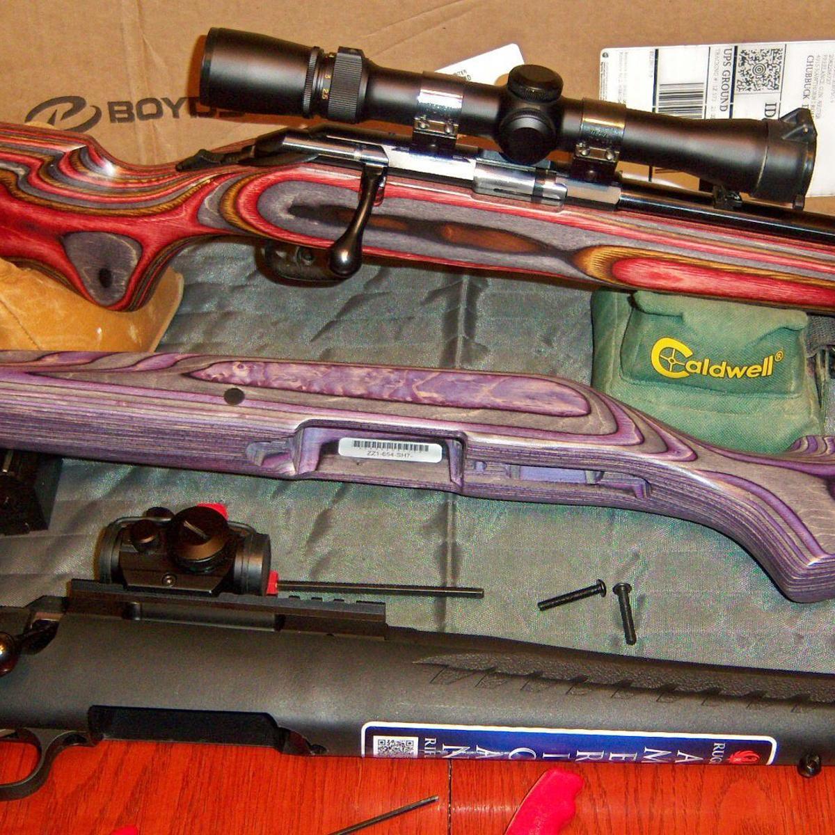 Boyds' Gunstock is bullish in the replacement gun stock market