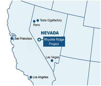 Rhyolite Ridge Project