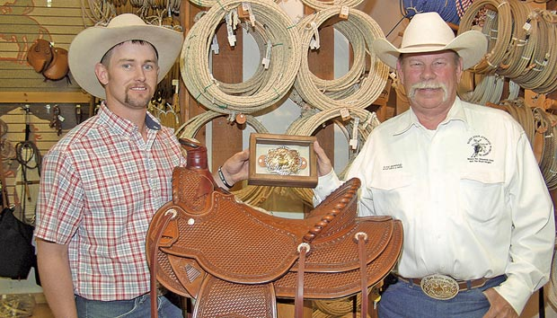 Stampede saddle