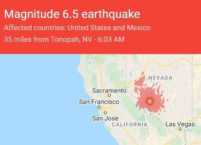 Tonopah quake