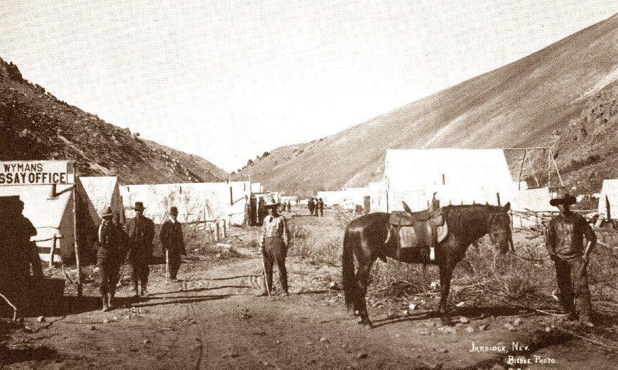 Mining in Jarbidge
