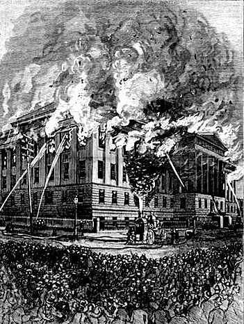Patent Office's second fire