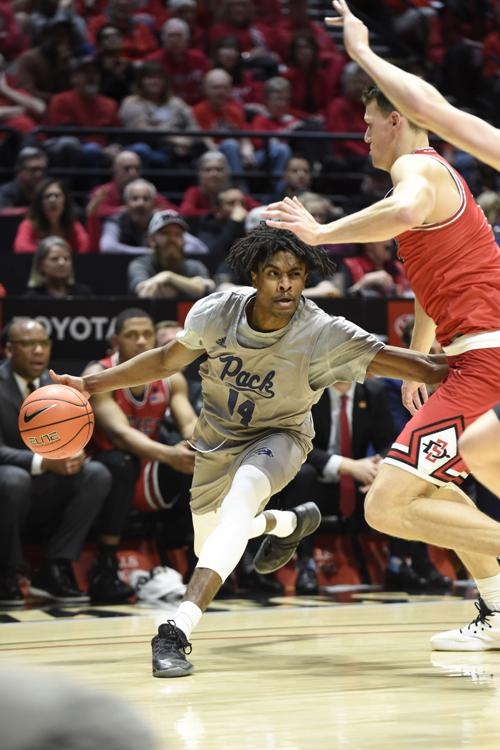 Pack host UNLV in intrastate rival