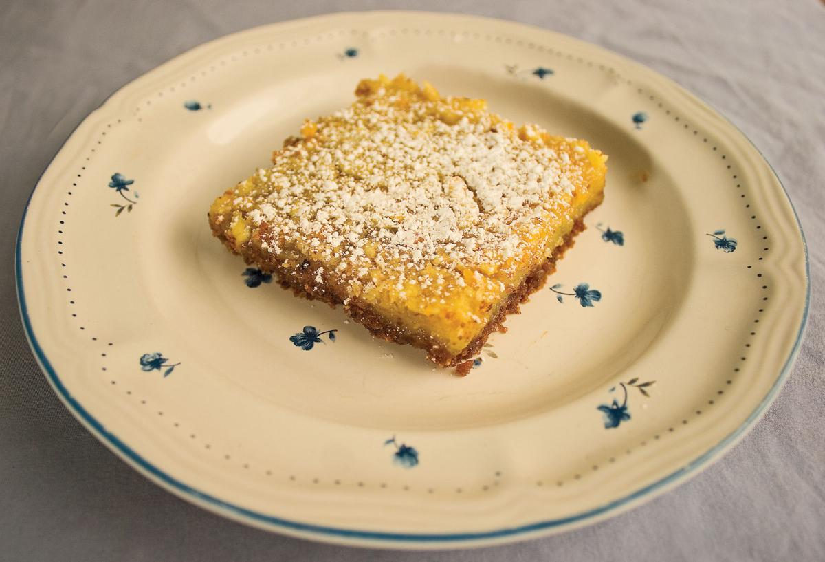 Lemon bars — with a twist