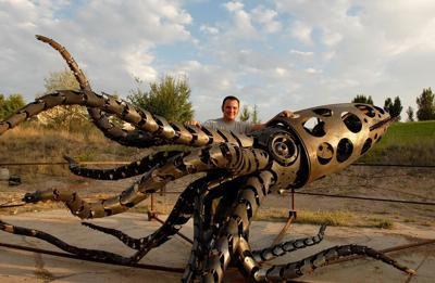 Mechateuthis makes it to Burning Man
