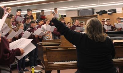 Choraliers prepare for Carnegie Hall