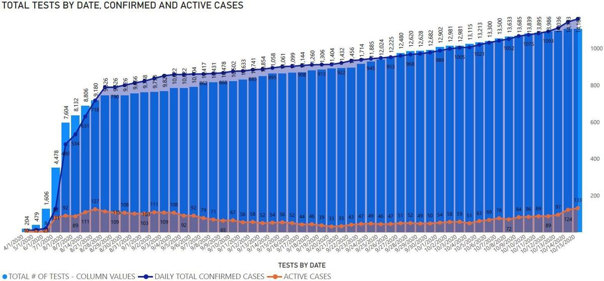 Elko County coronavirus statistics