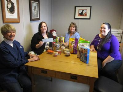 Animal shelter receives donation from Towneplace Suites