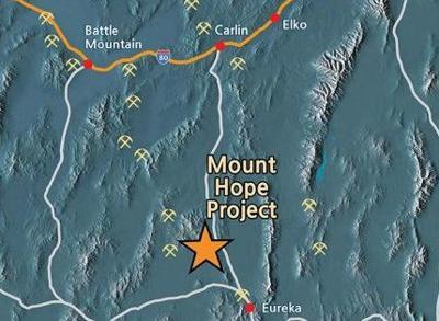 Mt. Hope mine site