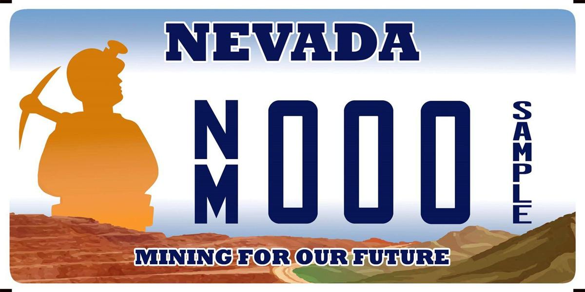 Mining license plate