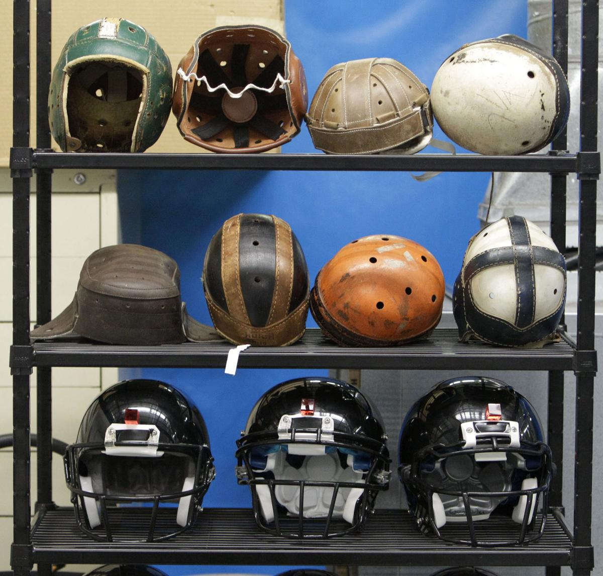 NFL at 100-Helmet Technology Football