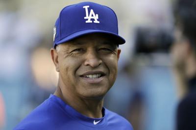 Dodgers Roberts Contract Baseball