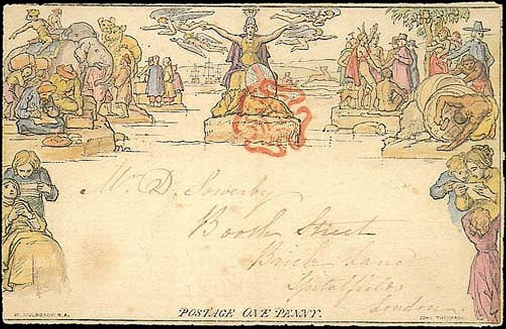 The ill-fated Mulready envelope