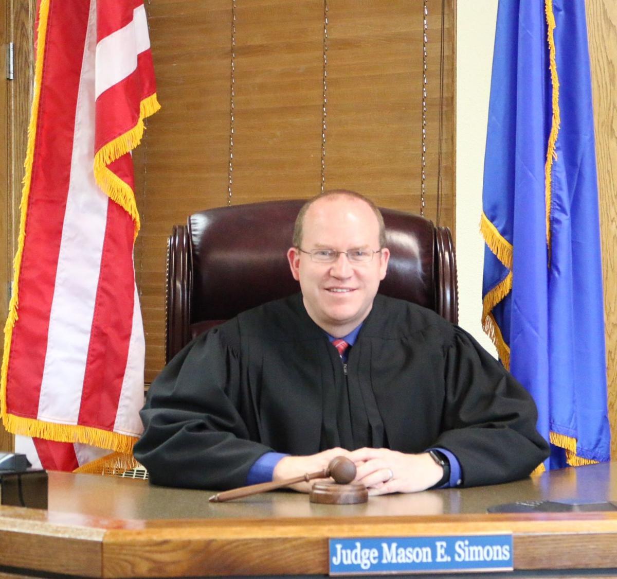 Simons files for JP re-election