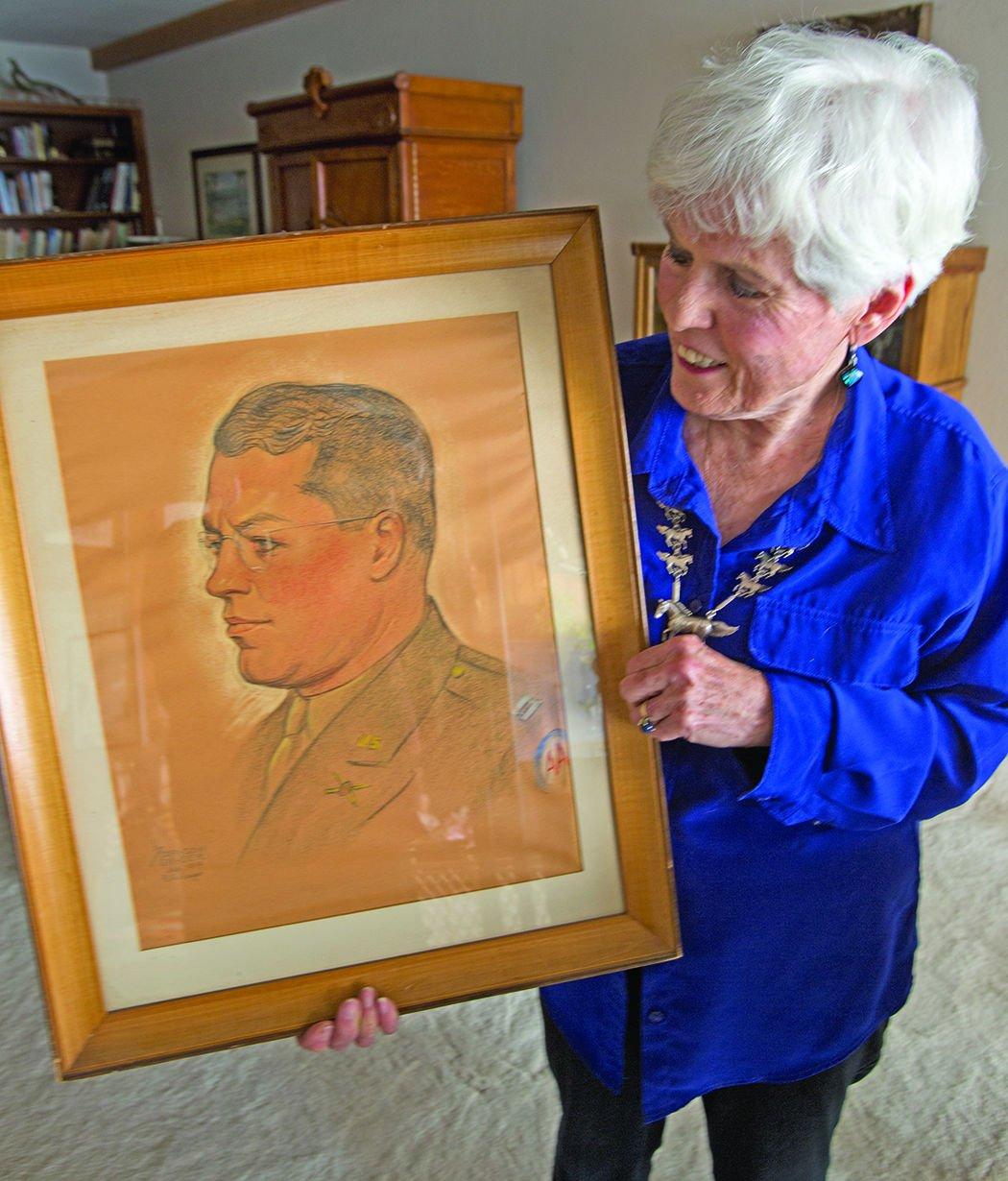 Monument Men Army Major Pearson portrait