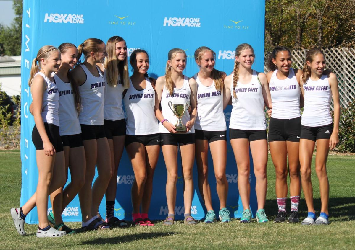 Spring Creek girls cross country team -- Capital Cross Challenge