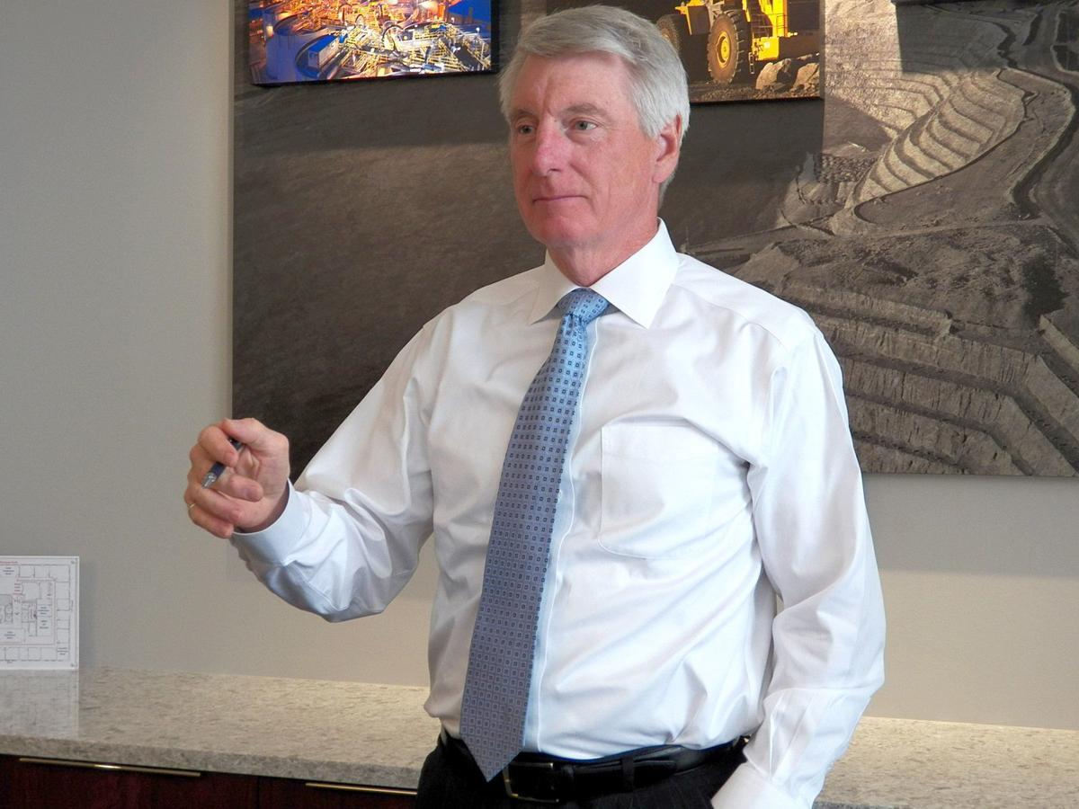 Royal Gold CEO Tony Jensen